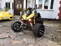 2013 JINLING ROAD LEGAL QUAD 250CC *LAMBORGHINI * (VENOM/VIPER/SPY-RACING//ZONGSHEN/YAMAHA RAPTOR)