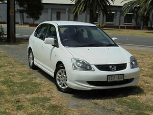 2004 Honda Civic 7TH GEN VI Taffeta White 4 Speed Automatic Hatchback Albert Park Charles Sturt Area Preview