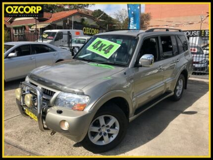 2004 Mitsubishi Pajero NP Exceed LWB (4x4) 5 Speed Auto Sports Mode Wagon