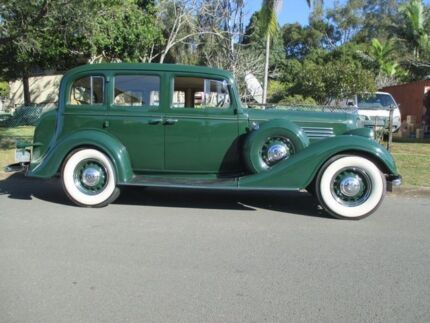1934 Buick Special 8/40 Buick Alexandrite Green 3 Speed Manual Sedan Birkdale Redland Area Preview