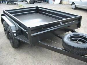 Tandem Trailer with Cage Fyshwick South Canberra Preview