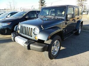 2008 Jeep Wrangler Unlimited 4 Door Sahara 4x4