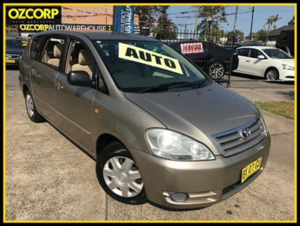 2002 Toyota Avensis ACM20R Verso GLX Gold 4 Speed Automatic Wagon
