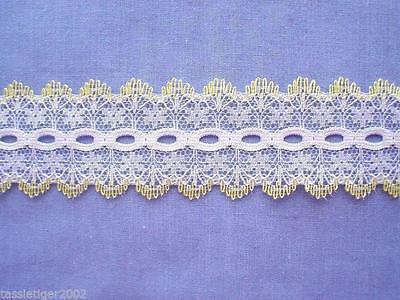 x 15 metres Coathanger Mint Eyelet Lace