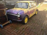 AUSTIN MINI 1000 CITY E 1988/ 998cc PETROL
