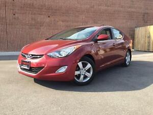 2012 Hyundai Elantra GLS-AUTOMATIC-SUNROOF-ALLOYS-HEATED SEATS