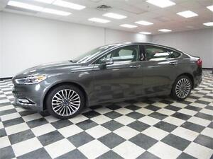 2017 Ford Fusion SE AWD - LOW KMS**REMOTE START**HEATED SEATS Kingston Kingston Area image 1