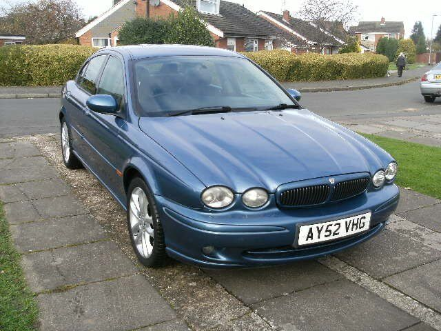 2002 jaguar x type 2 1 manual blue in glen parva leicestershire gumtree. Black Bedroom Furniture Sets. Home Design Ideas