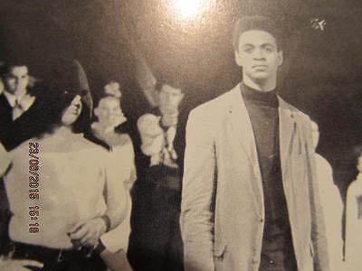 1966 Yearbook University of Evansville IN With Actor Ron Glass of Barney (Barney With Glasses)