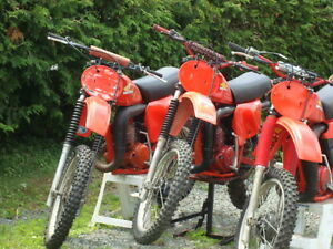 Honda Cr 250 78 79 80 Elsinores Plus parts