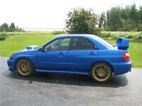 2004 Subaru Impreza Sedan (Natl) WRX STi w/Gold Wheels