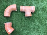 construction drainage pipes