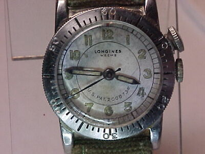 ORIGINAL, RARE & WORKING USAC Type A-11 Longines Weems Watch (FIRST ISSUE)