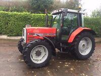 1999 Massey Ferguson 6160 Dynashift 4wd tractor