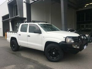 2014 Volkswagen Amarok 2H MY14 TDI420 (4x4) White 8 Speed Automatic Dual Cab Utility Beckenham Gosnells Area Preview
