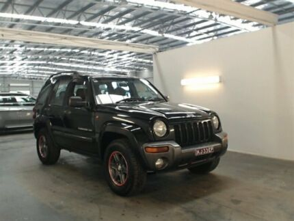 2004 Jeep Cherokee KJ Sport (4x4) Black 4 Speed Automatic Wagon