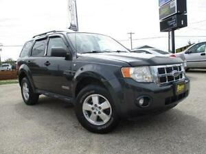 2008 FORD ESCAPE XLT 4WD, HAS SAFETY&WARRANTY $7,450