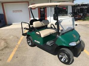 2014 EZGO RXV Golf Cart 48V Electric Green / Alloys