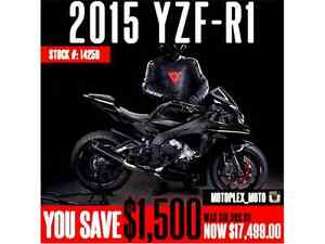 Yamaha R1 @ Blowout Pricing