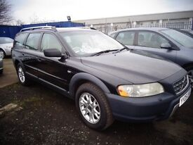 2005 05 reg volvo xc70 d5 se awd geartronic diesel auto estate mot to 5/17 good old car £1695
