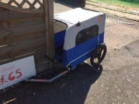 Bicycle Pet trailer for largish dog as new.