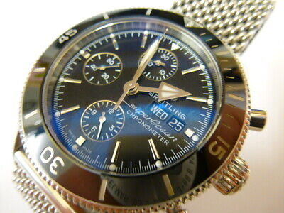 Gents Breitling Superocean Heritage II Watch - BOXED WITH PAPERS -