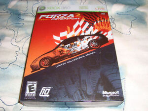XBOX 360 FORZA 2 MOTORSPORT LIMITED COLLECTOR'S EDITION