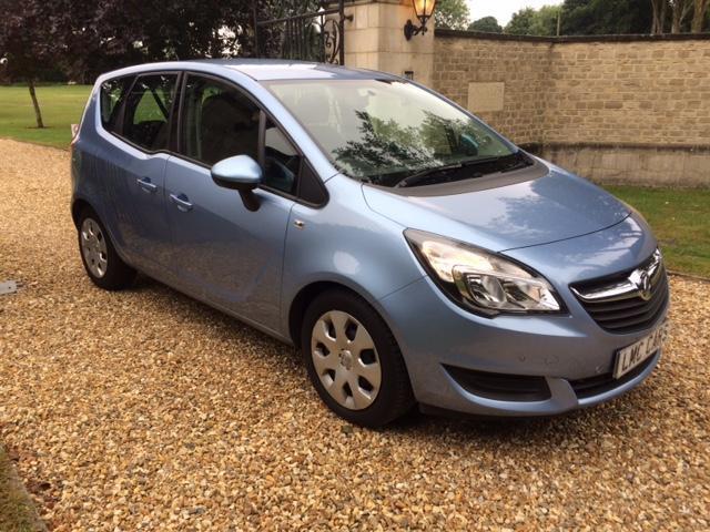 2014 Vauxhall Meriva 1.4i Turbo 16v Auto Exclusive ONLY 9,000 miles