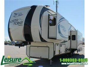 2017 Jayco North Point 311RKTS fifth Wheel Windsor Region Ontario image 2