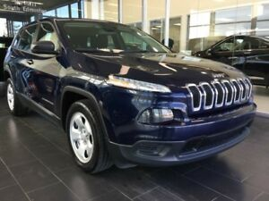2016 Jeep Cherokee SPORT, LOW KM, UCONNECT