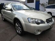 2003 Subaru Outback B4A MY04 Premium Pack AWD Silver & Gold 5 Speed Auto Sports Shift Wagon Clyde Parramatta Area Preview