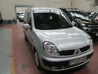 58 RENAULT KANGOO DRIVE FROM CHAIR TRANSFER 50 + ADAPTED VEHICLES IN STOCK