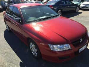 2006 Holden Commodore VZ Executive Red 4 Speed Automatic Sedan South Fremantle Fremantle Area Preview