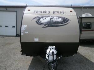2019 Forest River Wolf Pup 18 RJBD TOY HAULER! 3500LBS $19995!