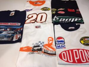 -NASCAR/GOOD WRENCH (7) T-SHIRTS/LONG SLEEVE.BRAND NEW.OBO.