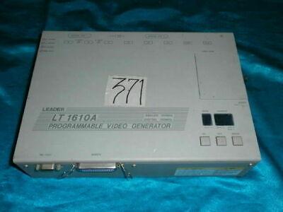 Leader Lt 1610a Lt1610a Programmable Video Generator