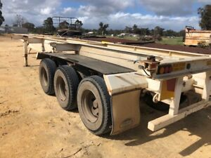 Trailer Skel Trailer GTE 3 way twist lock Lead SN977 Malaga Swan Area Preview