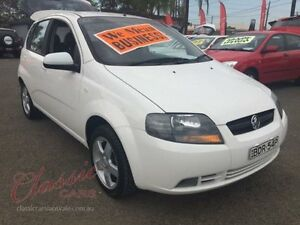 2007 Holden Barina TK MY07 White 4 Speed Automatic Hatchback Lansvale Liverpool Area Preview