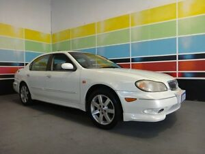 2003 Nissan Maxima A33 ST-R Pearl White 4 Speed Automatic Sedan Wangara Wanneroo Area Preview