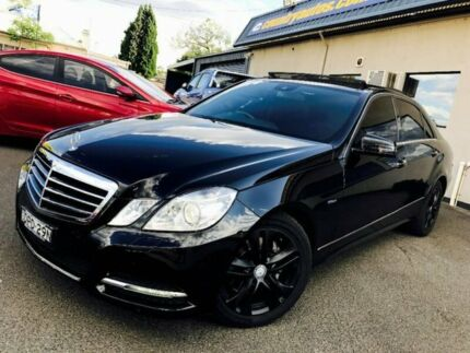 2011 Mercedes-Benz E250 CDI W212 BlueEFFICIENCY Avantgarde Black 5 Speed Sports Automatic Sedan