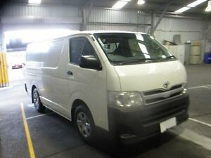 2013 Toyota Hiace KDH201R MY12 Upgrade LWB White 4 Speed Automatic Van Moorabbin Kingston Area Preview
