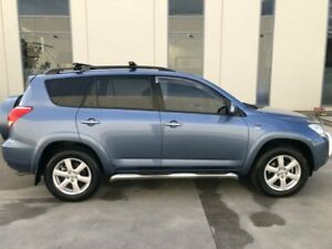 2007 Toyota RAV4 ACA33R Cruiser (4x4) Blue 4 Speed Automatic Wagon Castle Hill The Hills District Preview