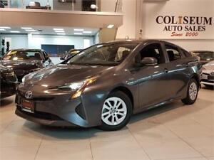2016 Toyota Prius HYBRID-CAMERA-FACTORY WARRANTY-ONLY 46KM