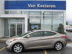 2013 Hyundai Elantra Limited 6AT