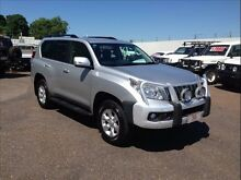 2012 Toyota Landcruiser Prado GRJ150R 11 Upgrade GXL (4x4) Silver 5 Speed Sequential Auto Wagon Berrimah Darwin City Preview