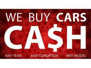 WE PAY CASH ON THE SPOT FOR CARS OR TRUCKS CLUNKER OR NOT!!