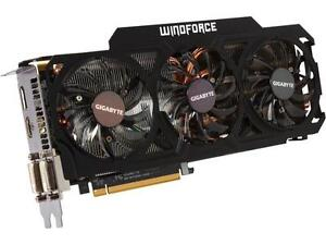 2 X Gigabyte Windforce GTX 770 4GB VRAM