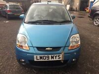 2009 Chevrolet Matiz 1 litre, starts and drives well, MOT until 24th June, 78,000 miles, ideal first