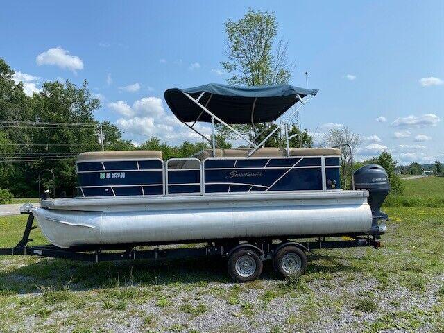 2018 Godfrey Sweetwater SW 2086 Cruise Pontoon Boat 90hp Yamaha & New Trailer