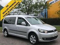 2013 / 13 Volkswagen Caddy Maxi 1.6TDi Life Wav,Wheelchair-Disabled-Winch-Ramp
